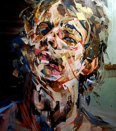"andrewsalgado.com - Andrew Salgado, The Deafening, Oil on canvas, 64x50"""