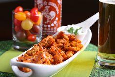 Sriracha-Habanero Vegan Buffalo Wings #spicy #recipe #vegan #superbowl #yummy