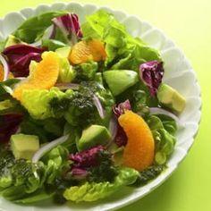 Orange & Avocado Salad Recipe  Add grilled shrimp or chicken for a meal!