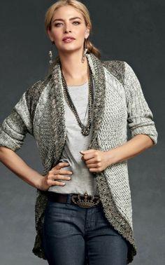 Fall 2012 Cabi Shadow Sweater