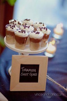 Tiramisu Shot Glass Dessert