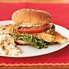 Superfast Fish Recipes | Catfish Sandwiches with Creole Mayonnaise | CookingLight.com