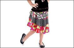 Fabulous Tiered Flouncy Skirt- Sizes 2-6 | YouCanMakeThis.com