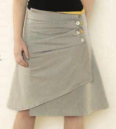 DIY skirt, not the best tutorial