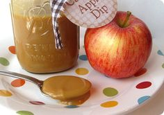 Super easy caramel apple dip!