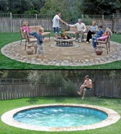 Creative Hidden Swimming Pool - so cool! I want one! Make sure to watch the video.