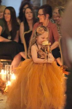 flowergirl tutu dress, fall flower girl tutu dress, burnt orange and brown girls tutu dress.