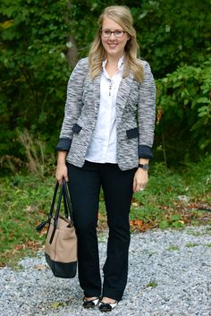 Blazer with a twist for Fall