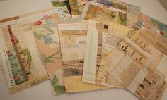 Great idea from Patty for using up those paper scraps!