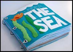 Under The Sea - Quiet Book