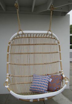 Serena & Lily | Double Hanging Rattan Chair