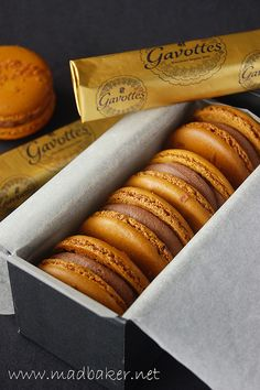 Richly delicious Plaisir Sucre Macarons. #macarons #cookies #French #pastries #food #baking #dessert