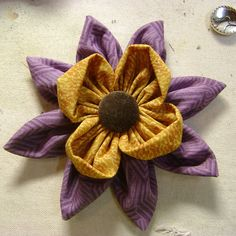 Fabric flower (inspiration for tattoo).