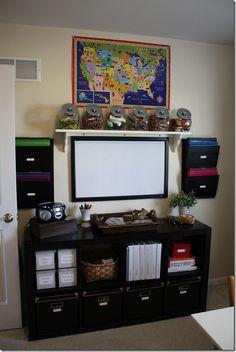 Another great homeschool room!