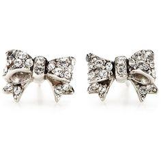 Bow Stud Earrings, cute!