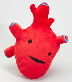 fred flare plush heart