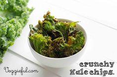 Veggieful: Kale Chips Recipe