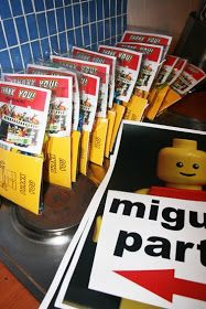 DIY Lego coloring books
