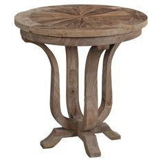Eco-friendly elm wood side table.  Product: Side tableConstruction Material: Recycled elm woodColor:...  $214.00