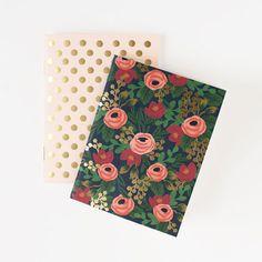 Rose Gold Pocket Notebooks | dotandbo.com