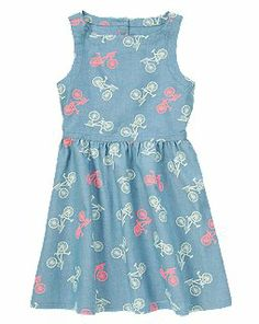 Bicycle Chambray Dress