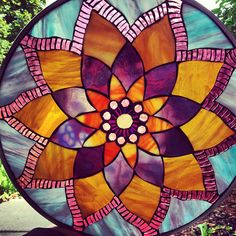 Lotus Mosaic Mandala Pattern & Instructions by CalyxAnn on Etsy, $8.00
