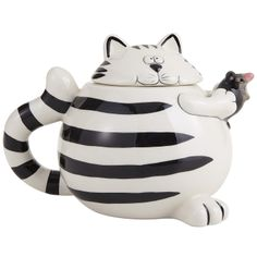 Pier1 - Chubby Cat Teapot ($17.95)