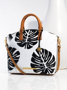 Brahmin Monaco Collection Vivian Satchel #BelkStyle #Handbags