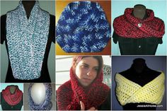 Crochet cowl free pattern from @Jessie_AtHome