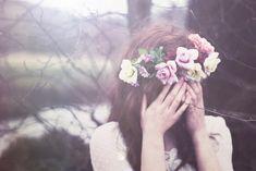 floral head wreath