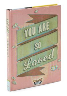 You Are So Loved | Mod Retro Vintage Books | ModCloth.com