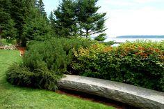 Design Elements- Garden Benches on Pinterest