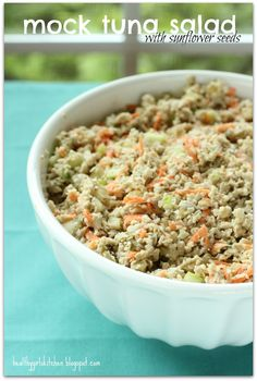 Mock Tuna Salad-Three Ways
