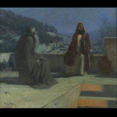 Henry O. Tanner- Nicodemus