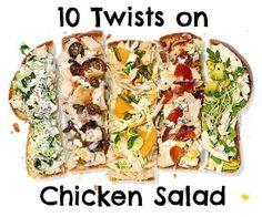 10 Twists on Chicken Salad