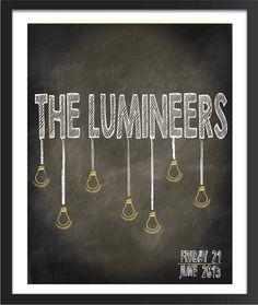 The Lumineers via Etsy