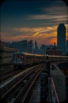 train back home