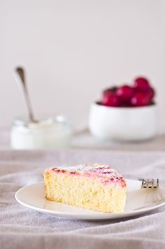 Lemon Plum Cake