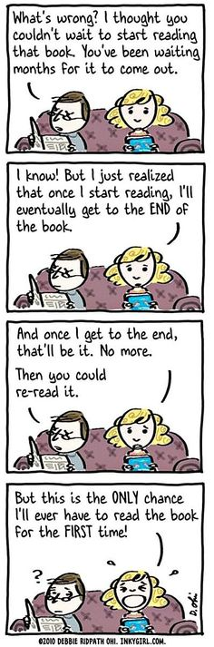 That panicky feeling you get as you approached the last chapters of your book. Story of my LIFE!!!!