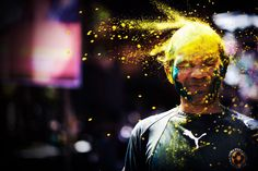 """""""Holi Explosion"""" by Giselle Natasia.  National Geographic Traveler Photo Contest 2012 - In Focus - The Atlantic"""