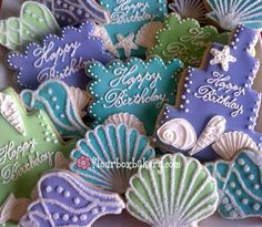 Flour Box Bakery — Beach Birthday Cookie Gift