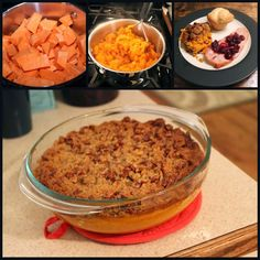 Sweet Potato Casserole - Thanksgiving recipe