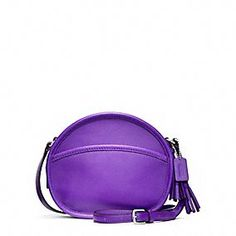 : Coach Legacy Leather Canteen Bag