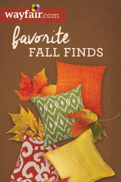 Give your home a cozy look for Fall with our favorite autumn décor finds for every style and budget. Click to save up to 70% on Wayfair.com!
