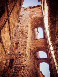 Perugia, in the region of Umbria, Italy