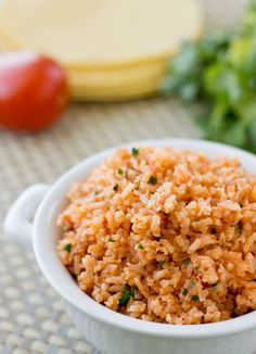 Restaurant-Style Mexican Rice | Culinary Hill