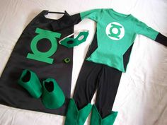 Made by Me. Shared with you.: Halloween Costume: Boys Green Lantern