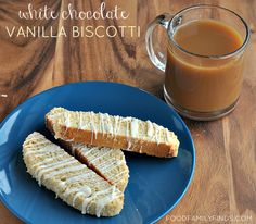 Keurig & Folgers Coffee #GIVEAWAY | Easy White Chocolate Vanilla Biscotti Recipe, Ends 11/1