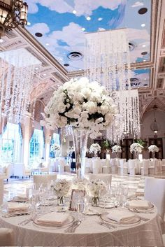 Looking for an all white wedding?
