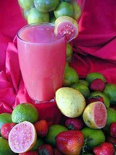Goiaba fruit and juice